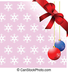 Snowflakes blue background with bl