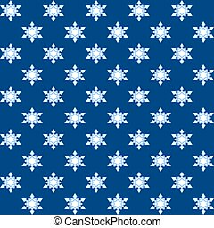 Snowflakes blue Christmas wrapping
