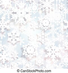 Snowflakes. Christmas and new year vector design