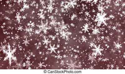 Snowflakes - Christmas background