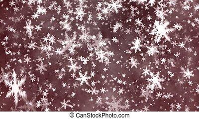 Snowflakes - Christmas background