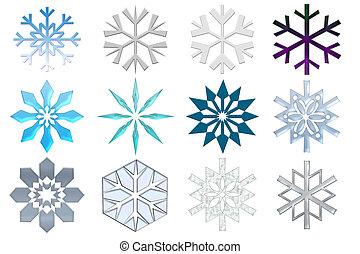 snowflakes, collectio