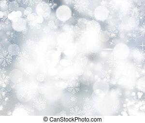 snowflakes, estrelas