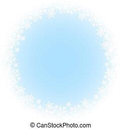snowflakes, fundo