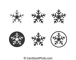 Snowflakes icons