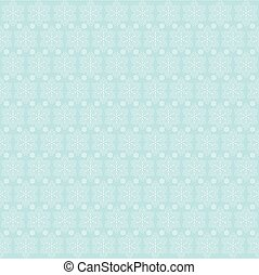 Snowflakes on blue sky - Christmas background
