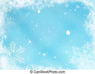 Snowflakes - Snowflake background