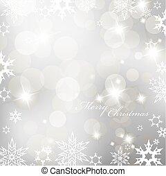 snowflakes., résumé, vecteur, fond