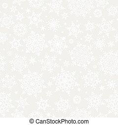Snowflakes seamless pattern. EPS 10