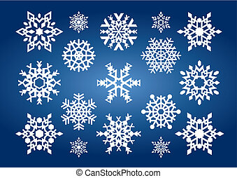 Snowflakes (vector)