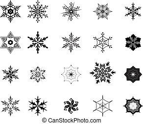 snowflakes Vektor