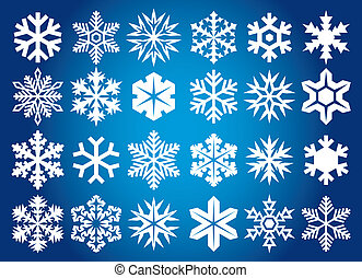 snowflakes, verzameling