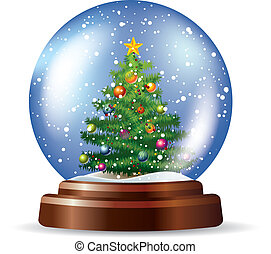 snowglobe, ∥で∥, クリスマスツリー