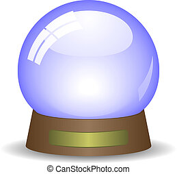 Snowglobe - Empty snowglobe. Available in jpeg and eps8...