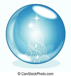 Snowing Ball