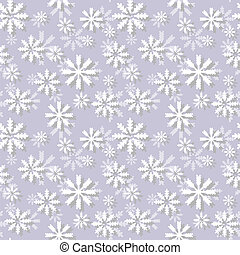 Seamless pattern with snowflakes. Vector EPS10 illustration.