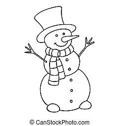 snowman., 漫画