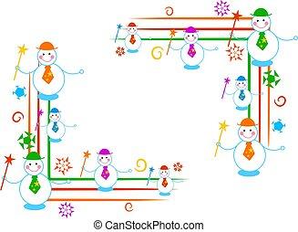 snowman corners