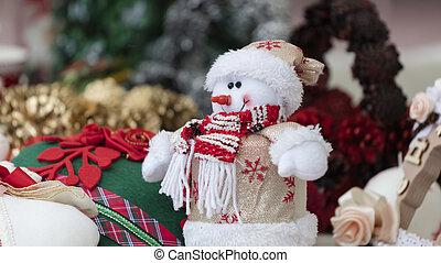 snowman decoration for Christmas