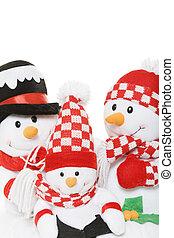 Snowman Family Christmas
