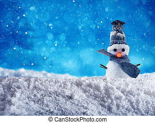Snowman for merry xmas