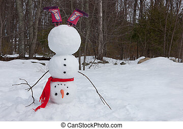 snowman, headstand