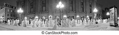 snowman promenade