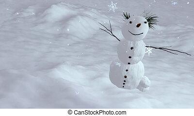 snowman top angle