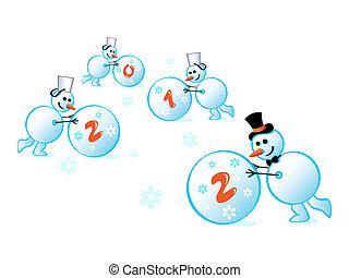 snowmans, 2012