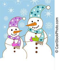 snowmen, 家族