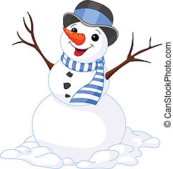 snowmen, jul