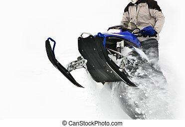 Snowmobile Jump