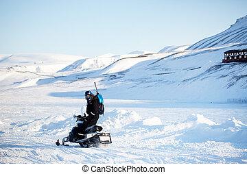 Snowmobile Transport