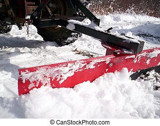 snowplow Lunenburg County Nova Scotia Canada