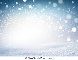 snowtorm, クリスマス, 夜