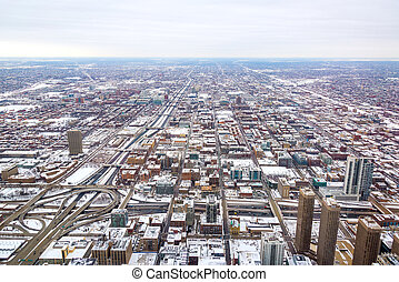 Snowy Chicago