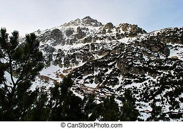 Snowy mountain peak 3