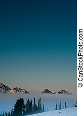 Tatoosh Range of mountains in Mt. Rainier National Park