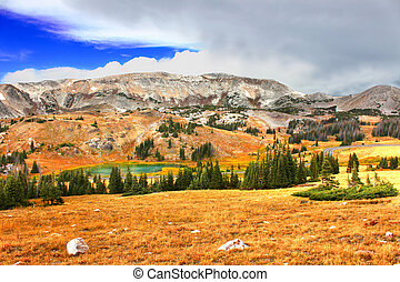Snowy Range Wyoming - Rugged mountains and wilderness of the...