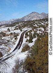 Snowy Road