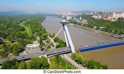 SNP New bridge, Bratislava