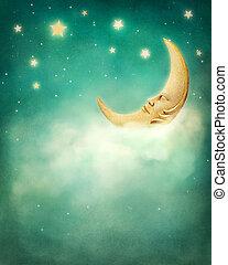 soñador, noche