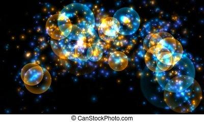 soap bubble and shine stars