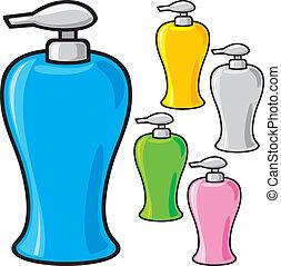 soap dispenser plastic pump