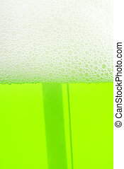 soap liquid foam background