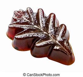 Soap oak leaf