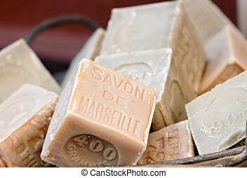 Soap of Marseille - olive oil soaps from Marseille