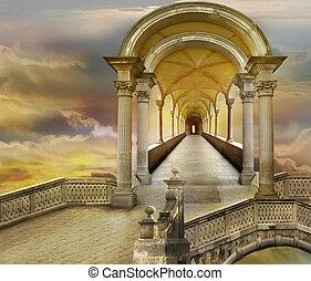 Inspiration from Italian heavens