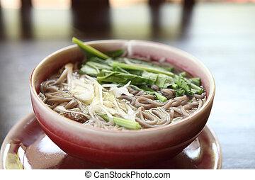 Soba noodle  - Soba noodle
