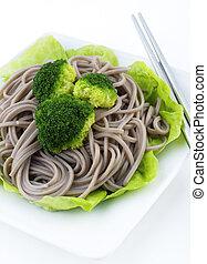 Soba Noodles.